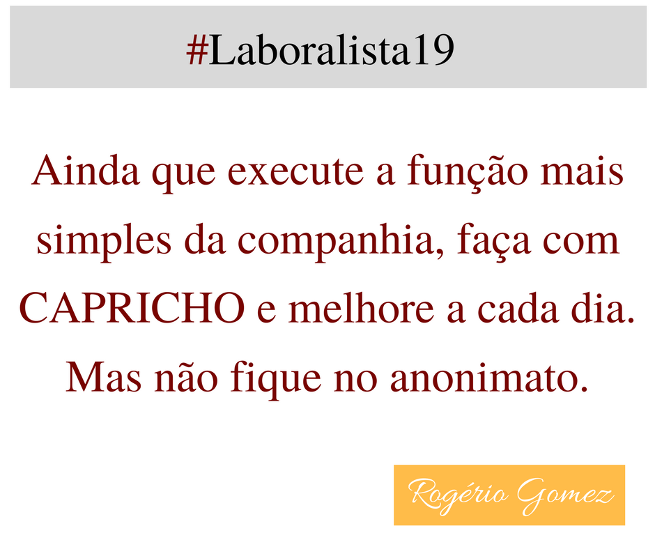 Pensamento Rogério Gomez